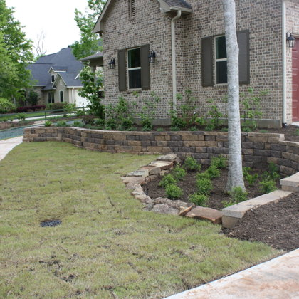 New Home Front Yard Design & Installation