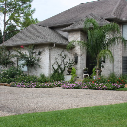 Front & Back Yard Landscape Design & Installation